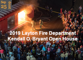 2019 Layton Fire Dept Kendall O. Bryant Open House (Sep 25)