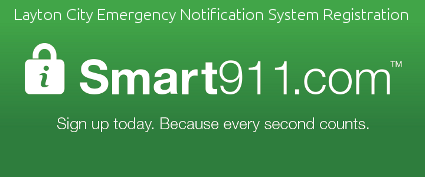Layton City Emergency Notification System Registration