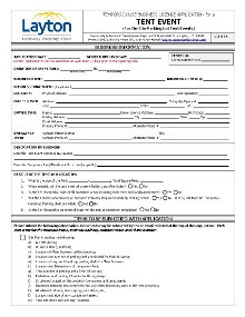 Tent Event Application