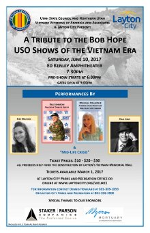 USO Show Flyer