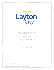 Standard Plans For Public Facilities Construction