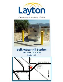 Water Fill Station Brochure