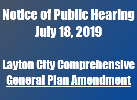 Public Notice of General Plan Amendment Meeting