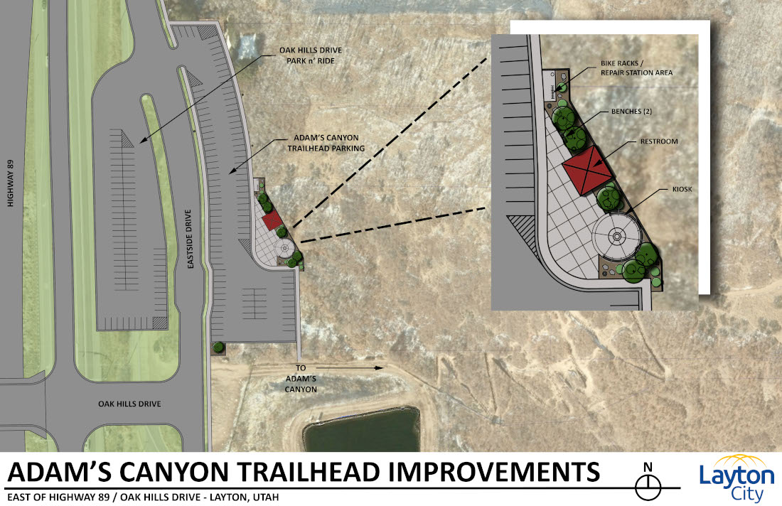 Adams Canyon Trailhead Improvements