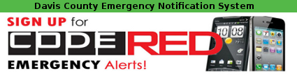 Davis County Emergency Notification System Registration (Code Red)