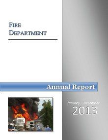 Fire Annual Report 2013