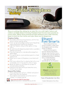 Portable Fireplace Safety