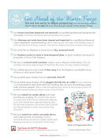 Top 10 Winter Freeze Tips