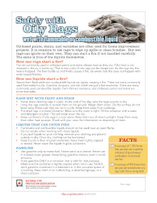 Oily Rags Safety Tips